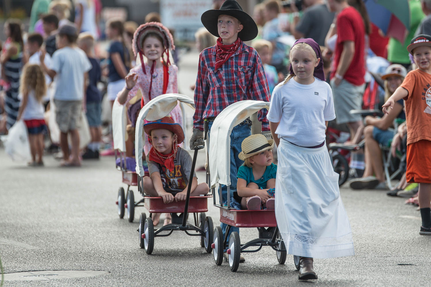 The Days of '47 Parade Dixie Pioneer Day Celebration, Washington, Utah, July 24, 2014 | Photo by Dave Amodt, St. George News