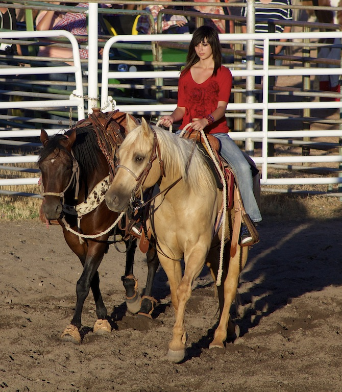 This photo from 2014 shows the 68th Annual American Legion and Sons of American Legion Enterprise Rodeo is a treasured family tradition for many, Enterprise, Utah, July 24, 2014   Photo by Samantha Tommer, St. George News