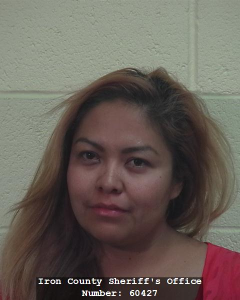 Jamie Begay, of Cedar City. July 27, 2014 | Photo courtesy of Iron County Sheriff's Office, St. George News