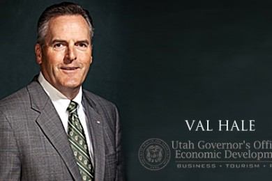 Val Hale | Photo courtesy of the office of Gov. Gary Herbert, St. George News