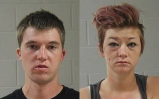 Scott Larson, left, and Jordan Larson, both of St. George, Utah, booking photos posted June 29, 2014 | Photos courtesy of Washington County Sheriff's Office, St. George News
