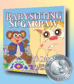 Babysitting Sugarpaw, by award winning author VS Grenier   Image courtesy of Virginia S. Grenier, St. George Book Festival, St. George News
