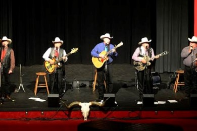 Sons of the Pioneers perform at Kanab High School, Kanab, Utah, Aug. 23, 2014 | Photo by Barry Glazier, St. George News