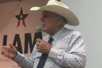 Cliven Bundy at the Independent American Party summit, St. George, Utah, Aug. 2, 2014 | Photo by Mori Kessler, St. George News