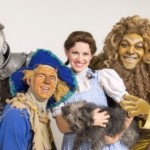"L-R Todd Nielson, Mark Reis, Kari Yancy and Trevor Dion Nicholas as the Tin Woodman, Scarecrow, Dorothy and the Cowardly Lion in Tuacahn's production of the ""Wizard of Oz,"" St. George, Utah, Summer 2014 