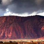 Red Mountain overlooking Ivins, Utah, circa 2014 | Photo by Photo Teas, St. George News