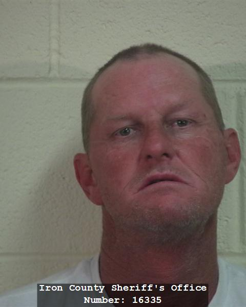 Tony Taylor of Cedar City, Utah, booking photo posted Aug. 24, 2014 | Photo courtesy of Iron County Sheriff's Office, St. George News
