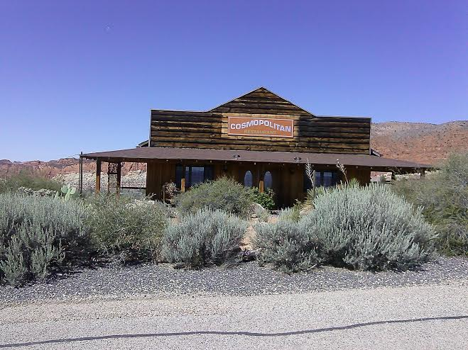 The historic Cosmopolitan restaurant building located in Silver Reef, Utah, Aug. 26, 2014   Photo by Aspen Stoddard, St. George News
