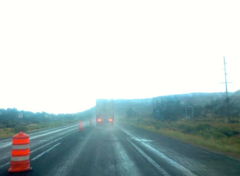 Highway 18, alternate route to Las Vegas. St. George, Utah, 10 42 a.m. on Sept. 9, 2014   Photo by John Teas, St. George News