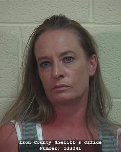 Heidi Lynn Macy, of Cedar City, Utah, booking photo posted Sept. 25, 2014 | Photo courtesy of Iron County Sheriff's Office, for St. George News