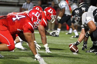 Dixie State University vs. Azusa Pacific, St. George, Utah, Sept. 27, 2014 | Photo by Robert Hoppie, ASPpix.com, St. George News