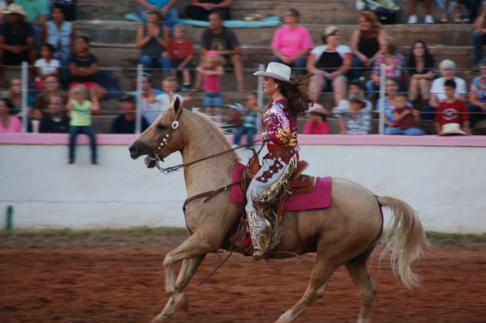 Sunbowl Roundup Go Pink 80th Annual Rodeo Stgnews Photo