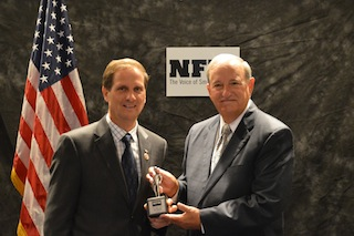 "Rep. Chris Stewart receives ""Guardian of Small Business"" award, Washington D.C., Sept. 17, 2014 
