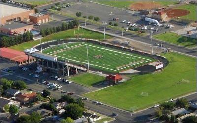 DSU plays at Hansen Stadium