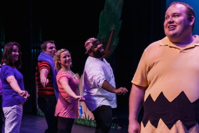 "The Neil Simon Festival acting cast performs ""You're a Good Man Charlie Brown,"" Cedar City, Utah, August 2014 
