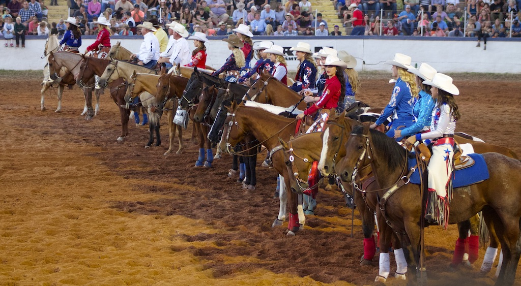Dixie Roundup Celebrates America With Parade Rodeo Finale