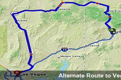 Highway Patrol clarifies alternate routes between Las Vegas ... on california scenic byways maps, tyler bus schedule and maps, ut county map, east layton utah maps, utah township and range maps, ut park maps, southern utah blm maps, ut and nv maps, utah food resource maps, utah hunting maps, utah driving directions maps, ut state map with cities,