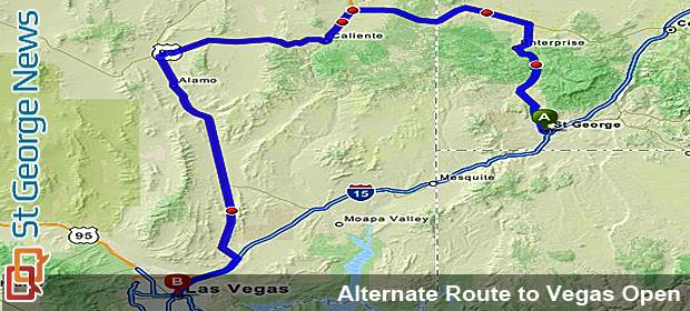 Highway Patrol clarifies alternate routes between Las Vegas