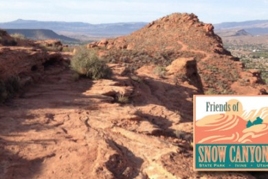 The Chuckwalla Trail skirts the western edge of the ridge providing views of the valley below, St. George, Utah, July 19, 2014 | Photo by Hollie Reina, St. George News