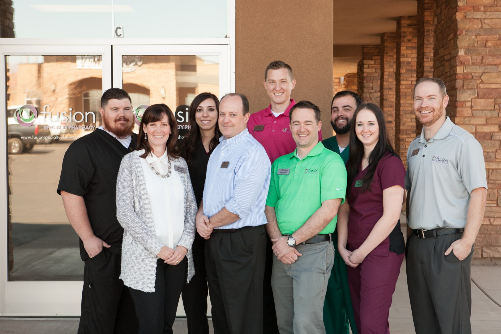 The staff of Fusion Specialty Pharmacy in Santa Clara, Utah, date unspecified | Photo courtesy of Fusion Specialty Pharmacy, St. George News
