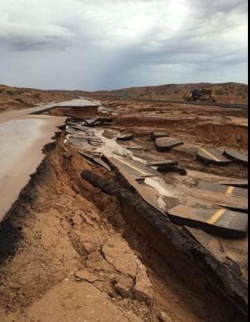 Heavy rains wreak havoc in southeastern Nevada, Clark County, Nevada, Sept. 8, 2014 | Photo courtesy of the Red Rock Search and Rescue/Recovery, St. George News Red