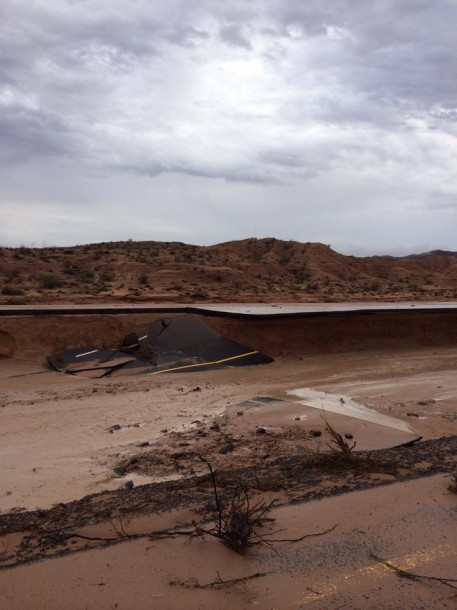 Heavy rains wreak havoc in southeastern Nevada, Clark County, Nevada, Sept. 8, 2014 | Photo courtesy of the Red Rock Search and Rescue/Recovery, St. George News