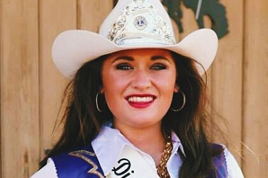 Kaity Bishop, Dixie Roundup Rodeo Queen 2014, St. George, Utah, Sept. 2014 | Photo courtesy of Kaity Bishop, St. George News