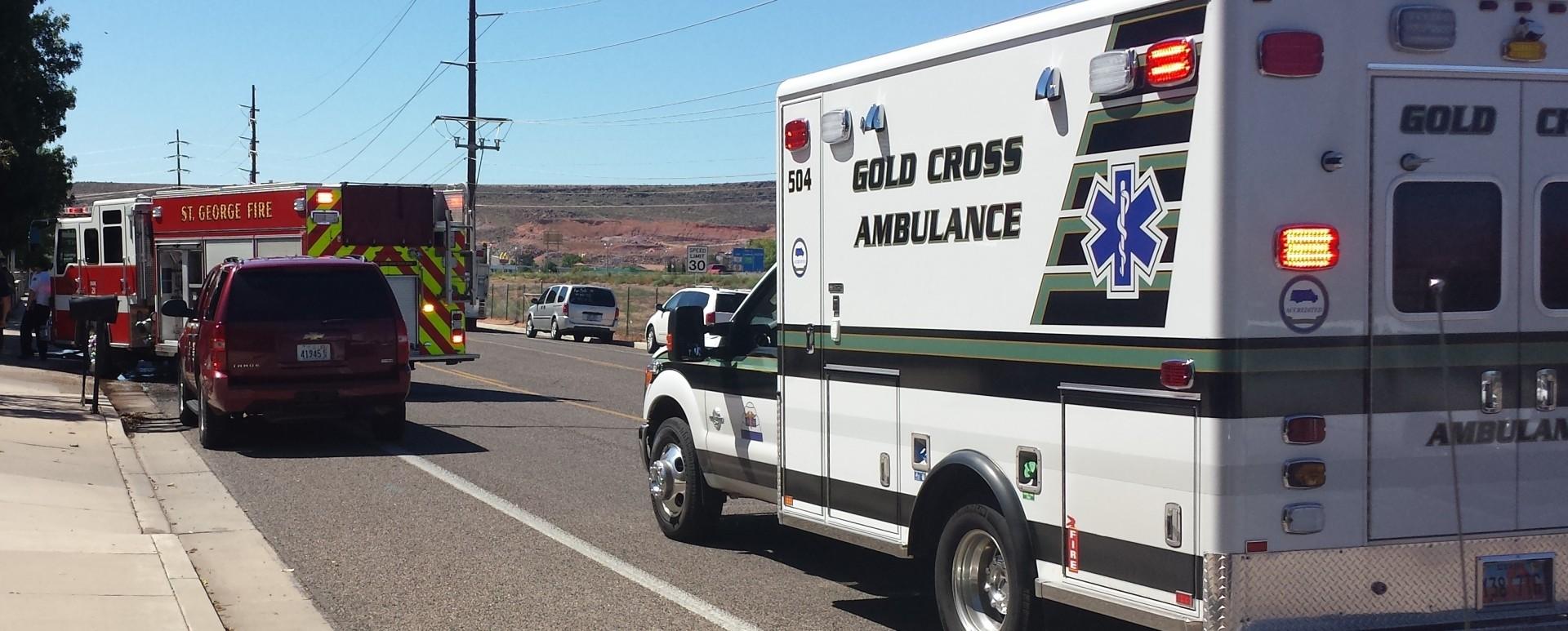 Structure fire at SUU Head Start Preschool. St. George, Utah September 22, 2014   Photo by T.S Romney St. George News