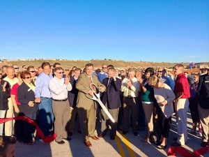 Mall Drive Bridge ribbon-cutting ceremony, St. George, Utah, Sept. 30, 2014 | Photo by Kimberly Scott, St. George News