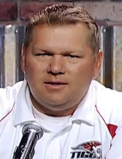 Hurricane coach Steve Pearson