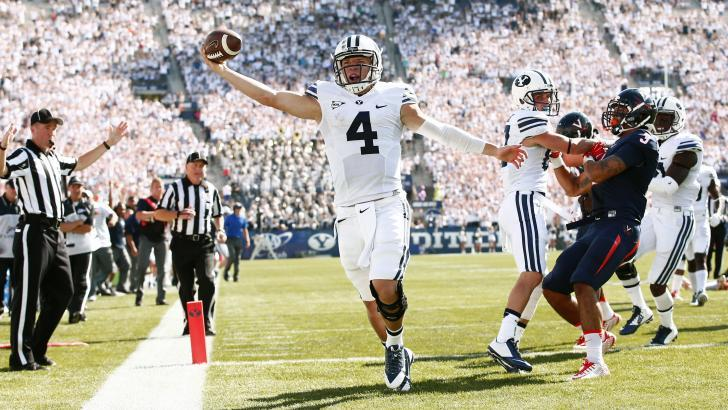 Taysom Hill was the difference Saturday. | Photo courtesy BYU Athletics