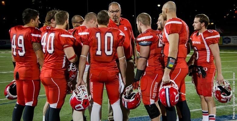 Coach Scott Brumfield and Dixie State football.