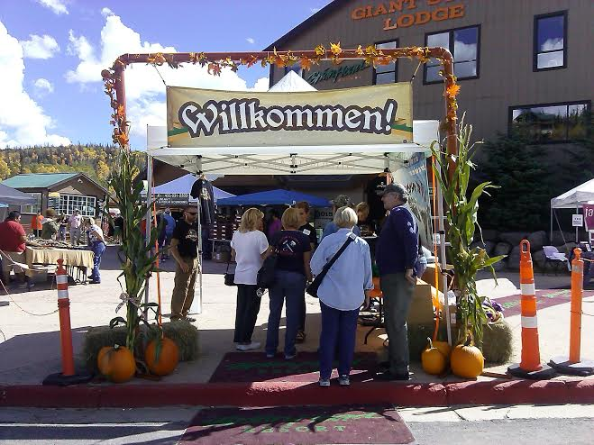 Entrance to R'Oktoberfest held at Giant Steps Lodge in Brian Head, Utah, Sept. 20, 2014 | Photo by Aspen Stoddard, St. George News