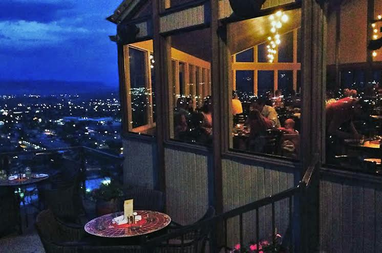 Night view of the Cliffside Restaurant located at 511 S. Airport Rd. in St. George, Utah, date unspecified | Photo courtesy of Tom Heers, St. George News