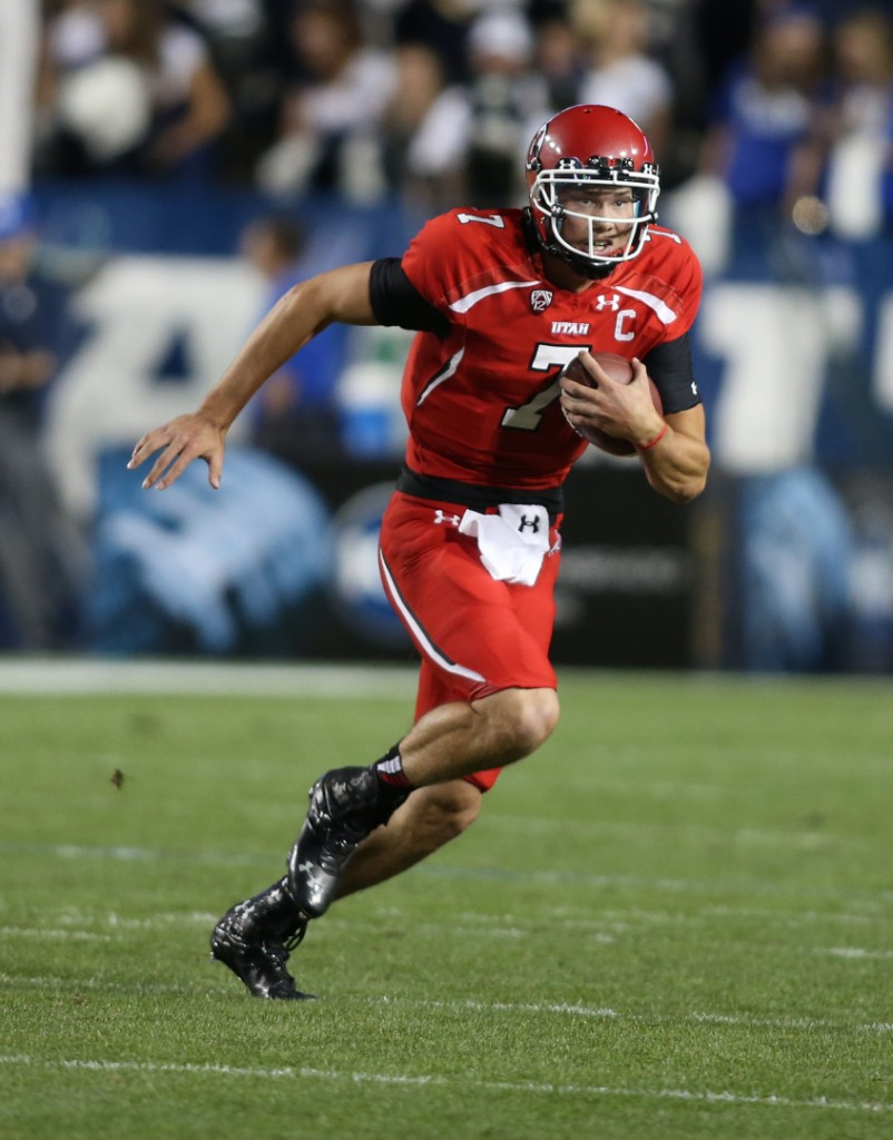 Utah QB Travis Wilson | Photo by Tom Smart/Utah Sports Information
