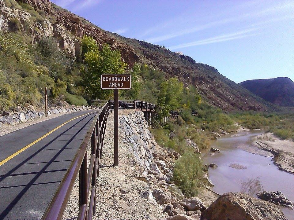 View of the Virgin River Boardwalk Trail, 965 S. Washington Fields Drive, Washington, Utah, Oct. 11, 2014 | Photo by Aspen Stoddard, St. George News