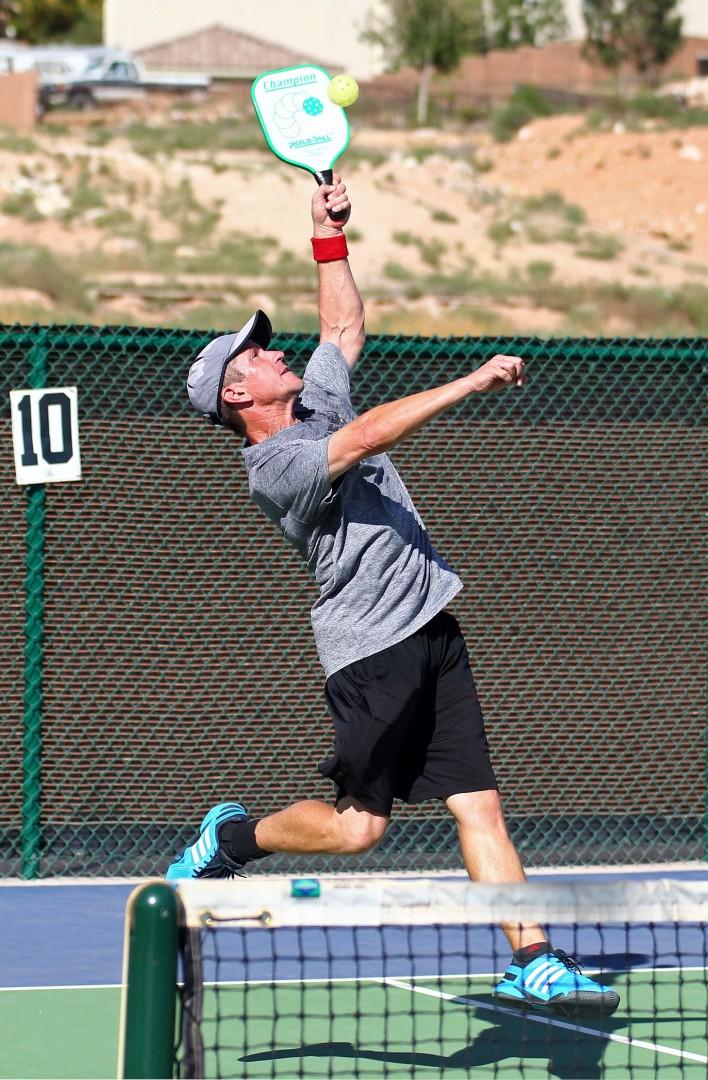 Fall Brawl Pickleball Tournament, St. George, Utah, Oct. 11, 2014 | Photo by Robert Hoppie, ASPpix.com, St. George News