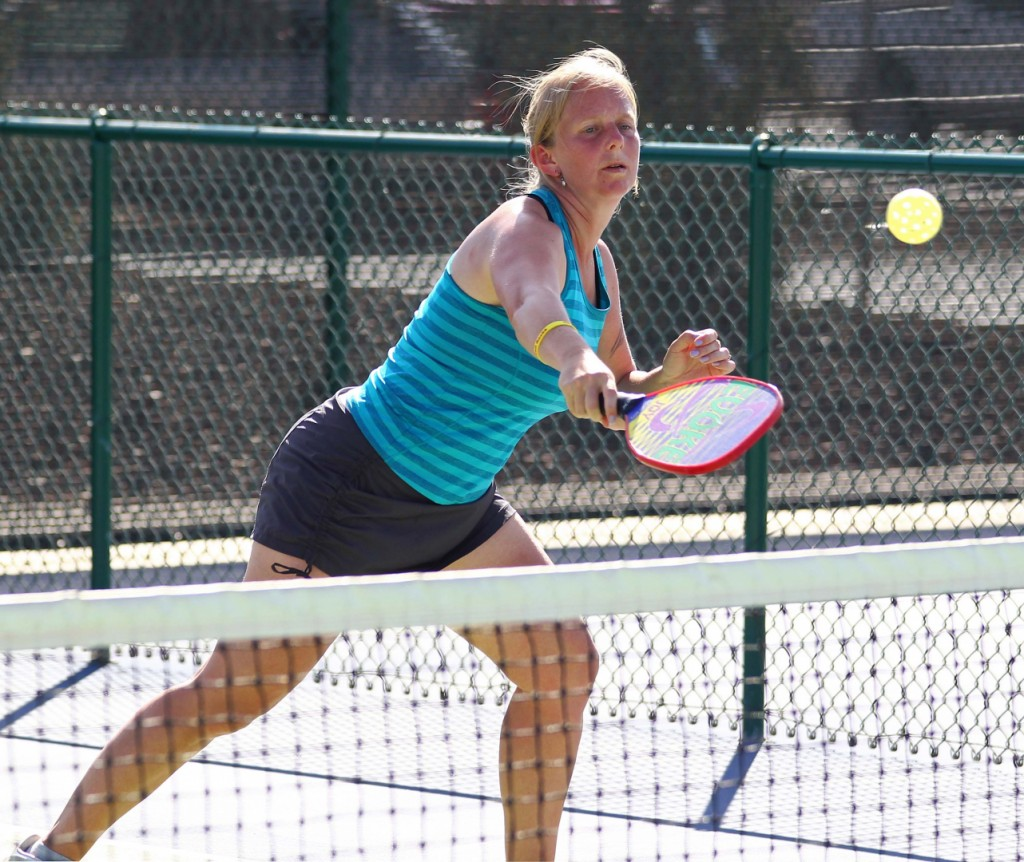 File photo from Fall Brawl Pickleball Tournament, St. George, Utah, Oct. 11, 2014 | Photo by Robert Hoppie, ASPpix.com, St. George News
