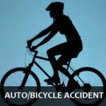 Accident - auto-bike