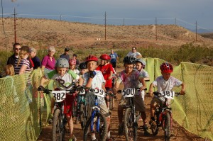 Kids ages 10 and under participate in the kids race at the first ever Fall Fury, St. George, Utah, Oct. 17, 2014 | Photo by Hollie Reina, St. George News