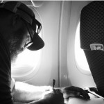 Photojournalist Dallas Hyland in route to the U.S. from Colombia, after covering a human trafficking investigation and bust, takes a moment to reflect, Oct. 2014 | Photo courtesy of Dallas Hyland, St. George News