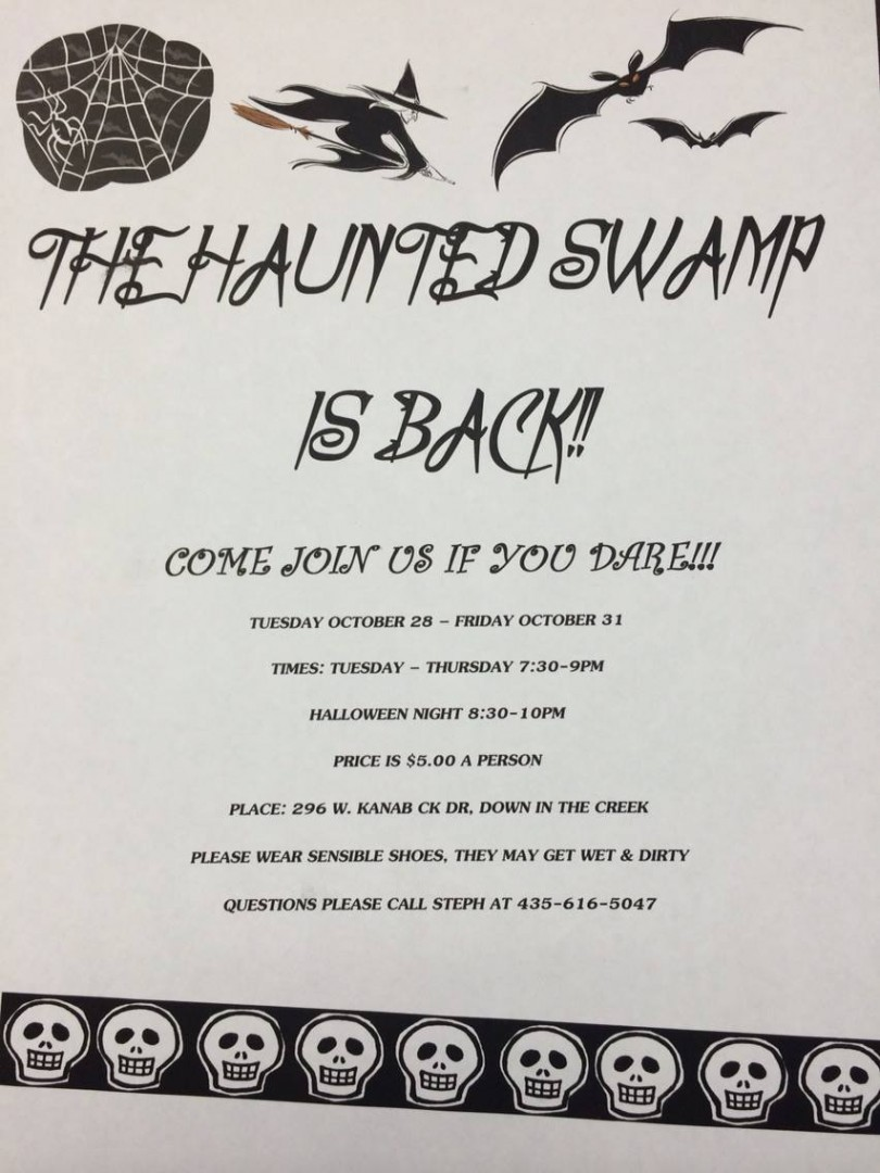 Haunted Swamp 2014