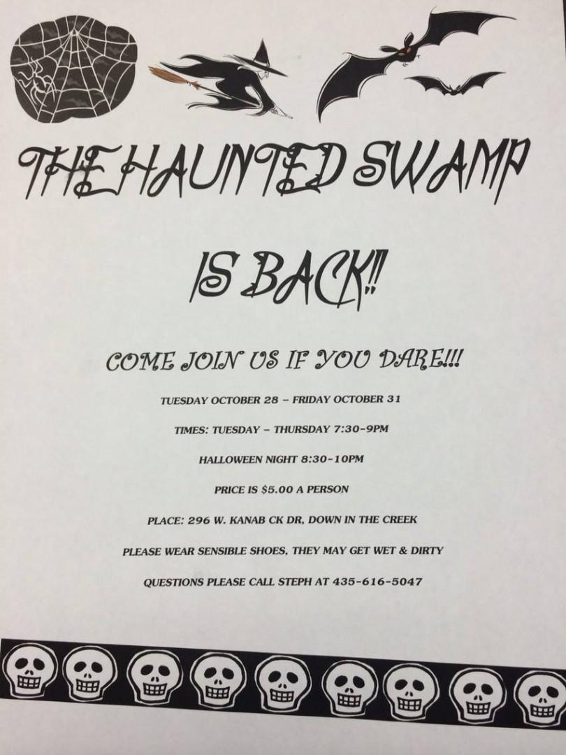 Haunted Swamp 2014