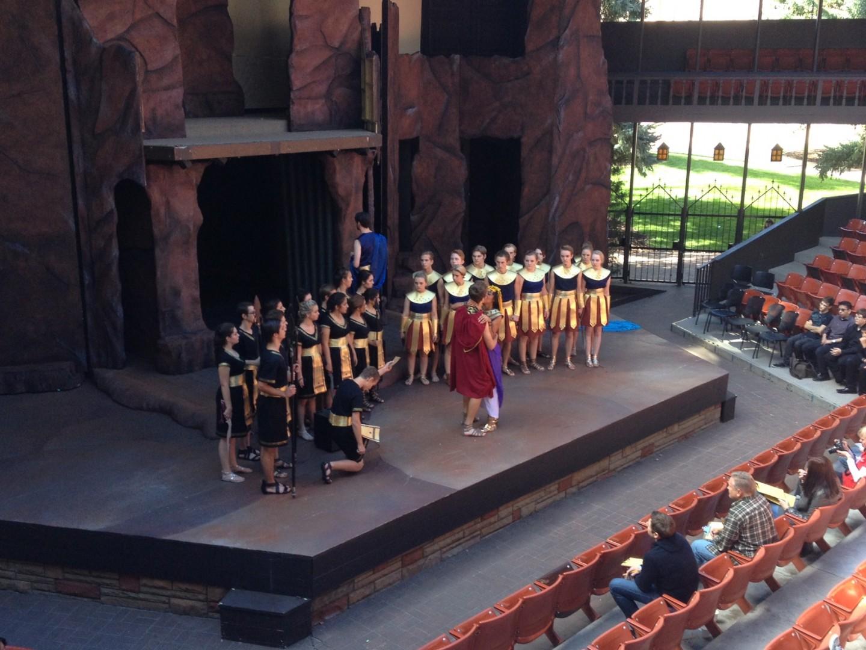 Shakespeare Competition, hosted by the Utah Shakespeare Festival and Southern Utah University, Cedar City, Utah, October 2014 | Photo courtesy of Utah Shakespeare Festival, St. George News