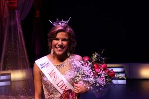 Sarah Thompson, winner of the Miss Dixie pageant, Photos courtesy of John Holfeltz and Izak Amargo, St. George, Utah, October 22, 2014