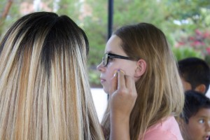 Face painting was provided for kids at Steps for Hope, St. George, Utah, October 9, 2014   Photo by Rhonda Tommer, St. George News