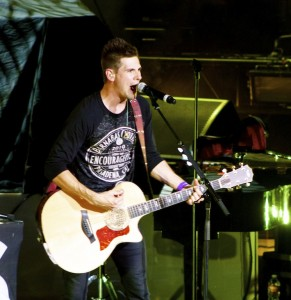 Adam Cappa opened the Jeremy Camp Come Alive Tour at the Cox Auditorium, St. George, Utah, October 26, 2014 | Photo by Samantha Tommer, St. George News