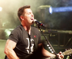 Dove Award winner and Grammy Nominee, Jeremy Camp sang at the Cox Auditorium Sunday night, St. George, Utah, October 26, 2014   Photo by Samantha Tommer, St. George News