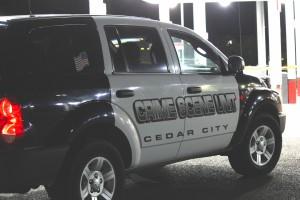 The Cedar City Crime Unit responding to 734 S. Main Street in Cedar City following an apparent homicide in Cedar City on Oct. 21, 2014   Photo by Devan Chavez, St. George News