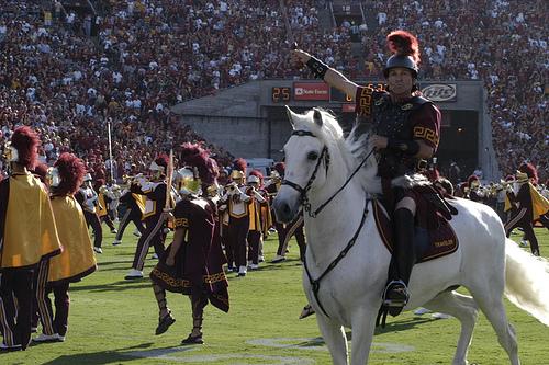 USC visits Rice-Eccles Stadium Saturday night.